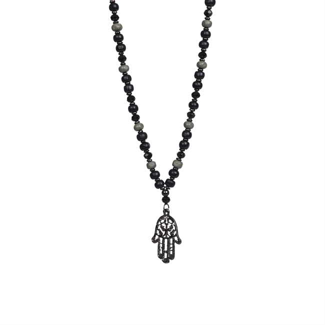 Picture of Necklace Lillian, black