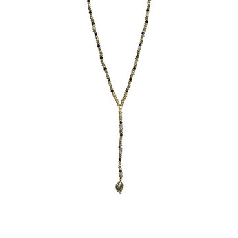 Picture of Necklace Allison, olive/gold