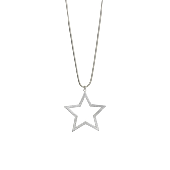 Picture of Necklace Frances, brushed silver