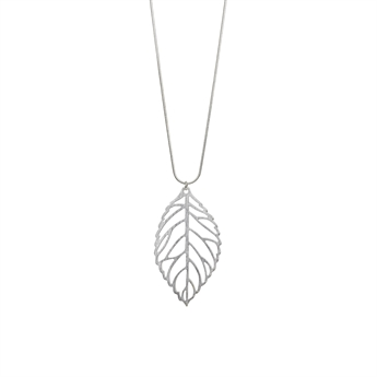 Picture of Necklace Leslie, brushed silver