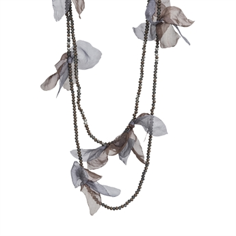 Picture of Necklace Charlie, beige/blue