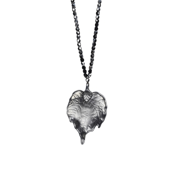 Picture of Necklace Johanna, gun metal