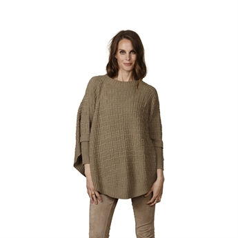 Picture of Poncho Denise, beige
