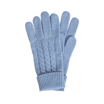 Picture of Gloves Zermatt, lt blue