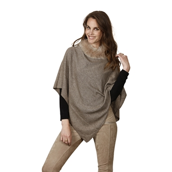 Picture of Poncho Kimberly, lt beige