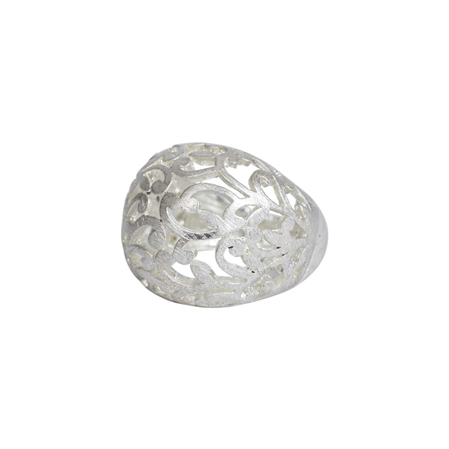 Picture of Ring Ophelia, brushed silver