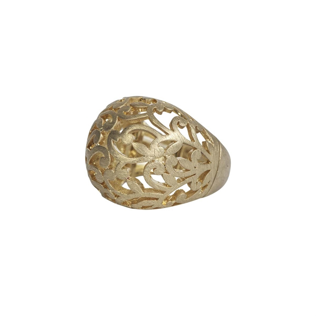 Picture of Ring Ophelia, brushed gold