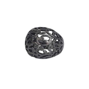 Picture of Ring Ophelia, brushed gun metal