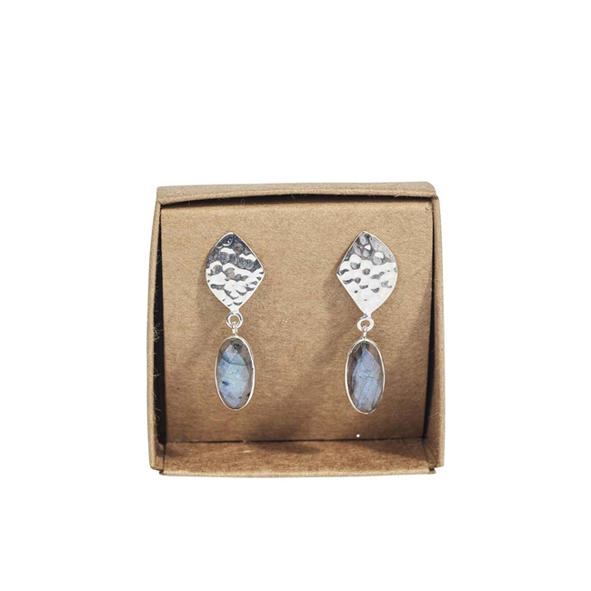 Picture of Earring Arianna, silverp/labradorite