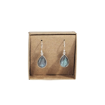 Picture of Earring Quinn, silverp/labradorite