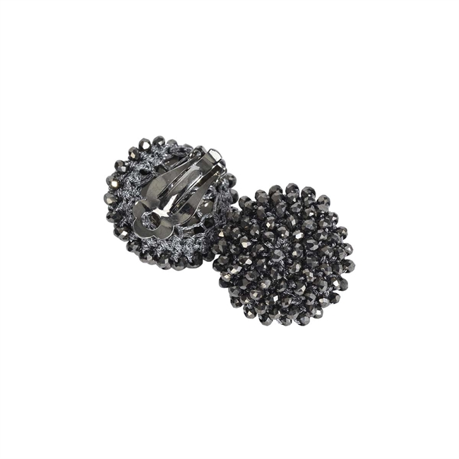 Picture of Earring (clip) Maria, gun metal