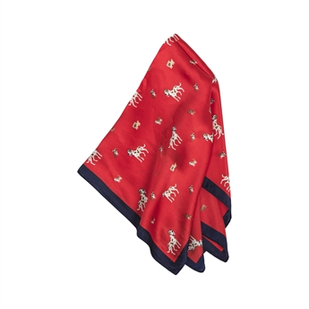 Picture of Mini scarf Nalle, red