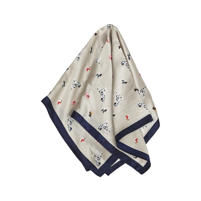 Picture of Mini scarf Nalle, grey