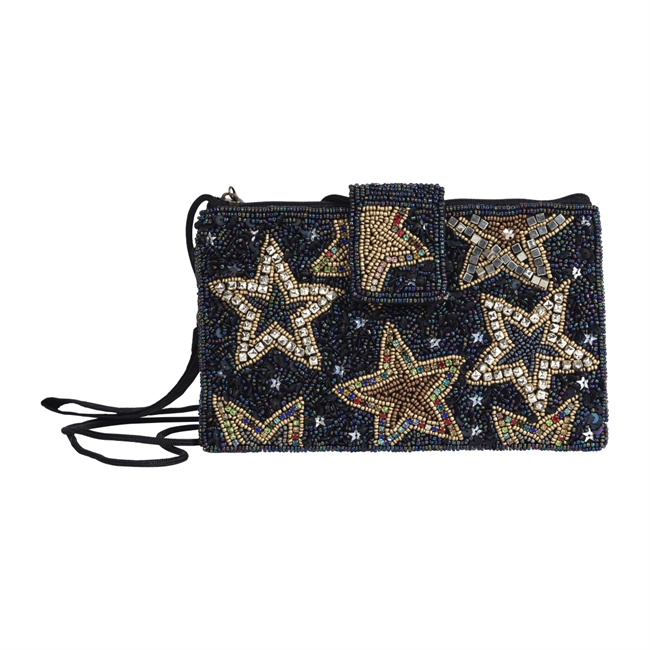 Picture of Mini clutch Florence, dk blue