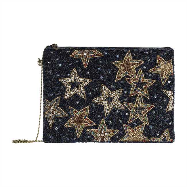 Picture of Clutch bag Florence, dk blue