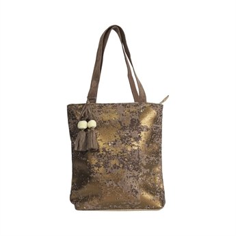Picture of Shoulder bag Esther, brown/bronze