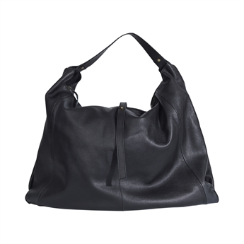 Picture of Shoulder bag Panama, leather black