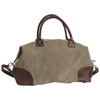 Picture of Weekend bag London, dk khaki