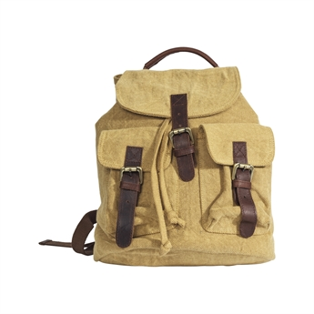 Picture of Back pack Valerie, mustard