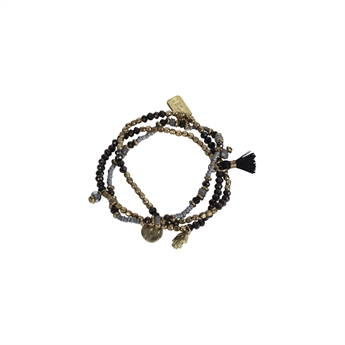 Picture of Bracelet Genesis, ivory/gold