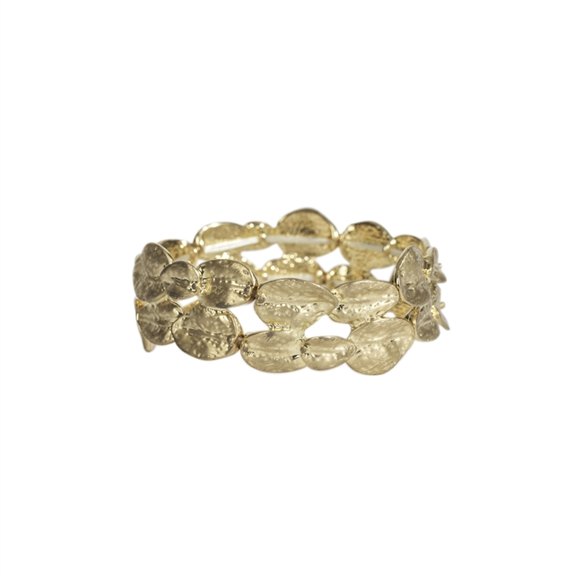 Picture of Bracelet Cayenne, brushed gold