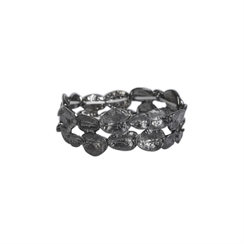 Picture of Bracelet Cayenne, brushed gun metal