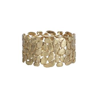 Picture of Bracelet Sabrina, brushed gold