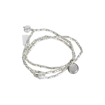 Picture of Bracelet/necklace Carmen, silver