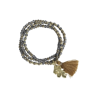Picture of Bracelet/necklace Gia, grey