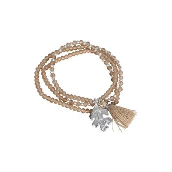 Picture of Bracelet/necklace Gia, lt pink