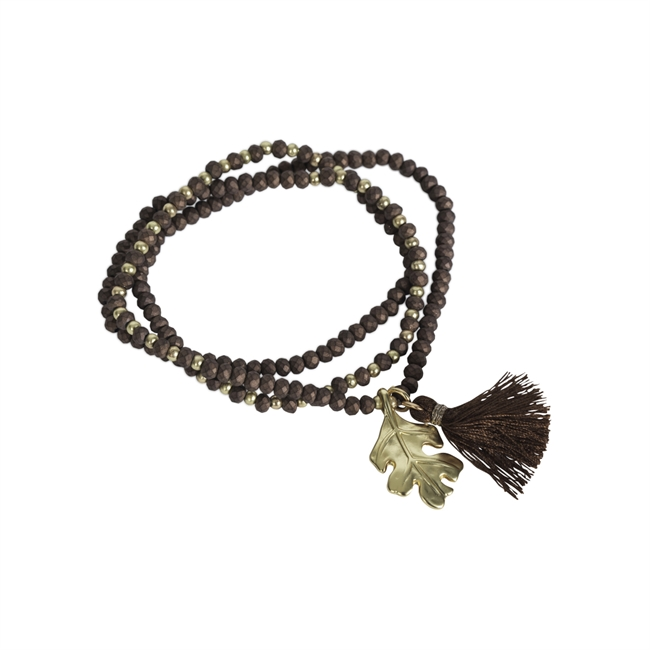 Picture of Bracelet/necklace Gia, choco