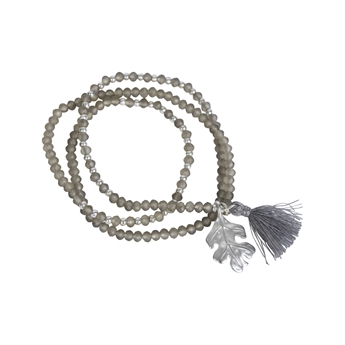 Picture of Bracelet/necklace Gia, taupe