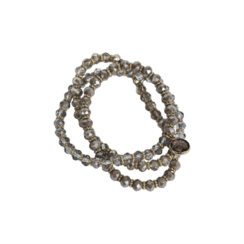 Picture of Bracelet/necklace Serena, taupe