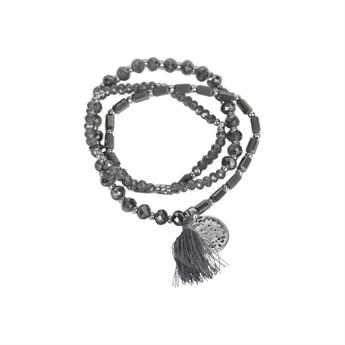 Picture of Bracelet/necklace Vivi, grey
