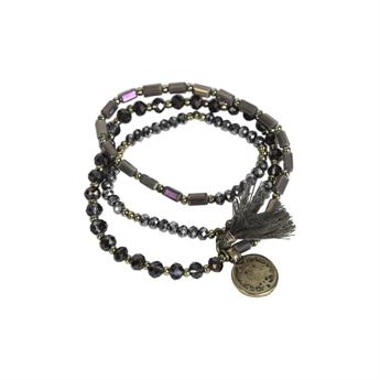 Picture of Bracelet/necklace Vivi, taupe