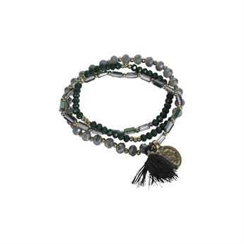 Picture of Bracelet/necklace Vivi, olive