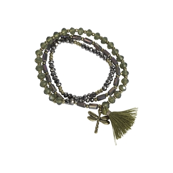 Picture of Bracelet/necklace Alexia, olive