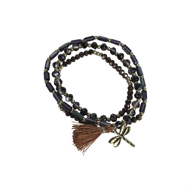 Picture of Bracelet/necklace Alexia, choco