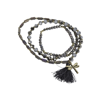 Picture of Bracelet/necklace Alexia, grey