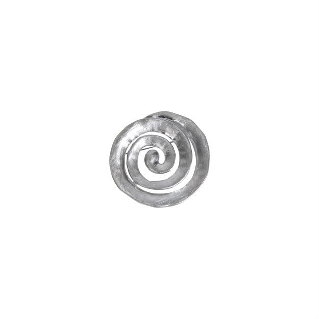 Picture of Brooch Eve, brushed silver
