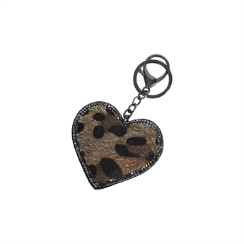 Picture of Keychain/Bag charm Natalie, brown