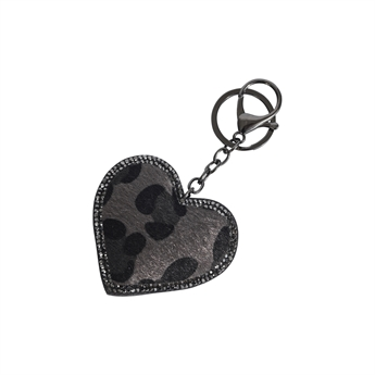 Picture of Keychain/Bag charm Natalie, grey