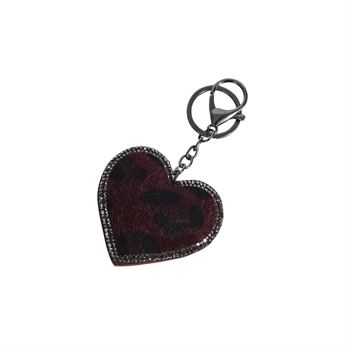 Picture of Keychain/Bag charm Natalie, red