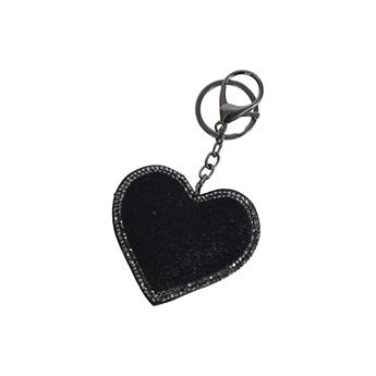 Picture of Keychain/Bag charm Brenda, black