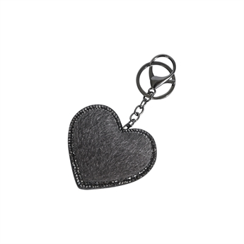 Picture of Keychain/Bag charm Brenda, grey