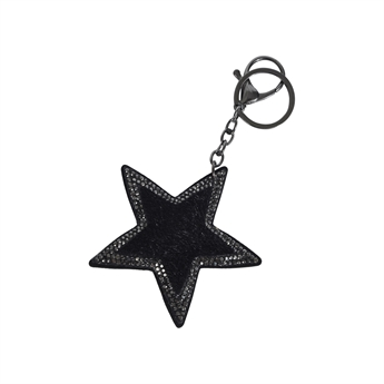 Picture of Keychain/Bag charm Blaire, black