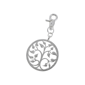 Picture of Keychain/Bag charm Kennedi, silver