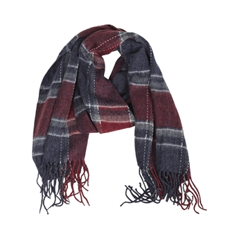 Picture of Scarf Harper, red/grey
