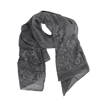 Picture of Scarf Amelia, dk grey