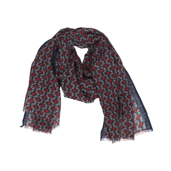 Picture of Scarf Brielle, navy/red